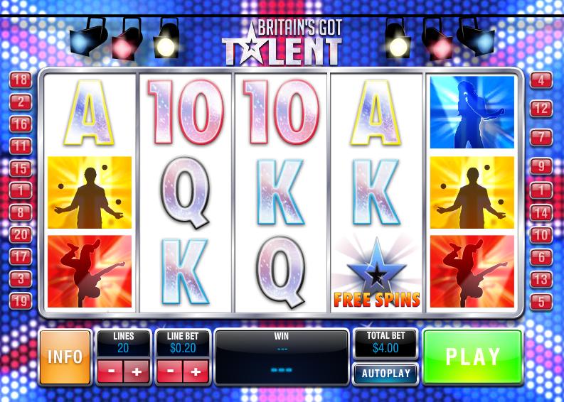 Britains got talent playtech casino slots fun manager