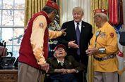 Trump Ucapkan Kalimat Rasis di Hadapan Veteran Perang Indian