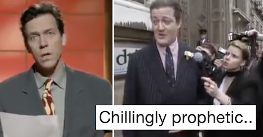 This old Fry and Laurie sketch is going viral because it basically sums up Brexit