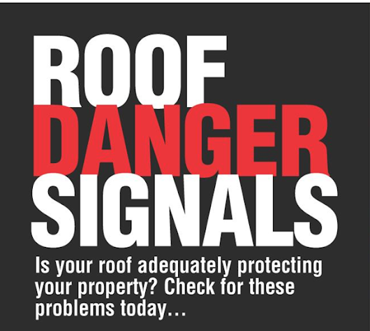 Roof Danger Signals