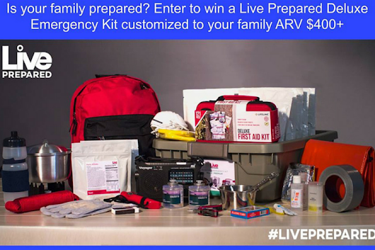 After Being Evacuated Twice I Now Live Prepared {Plus Giveaway} - Wine in Mom