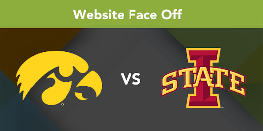 The Iowa Hawkeyes vs. Iowa State Cyclones - Who Has the Best Website?