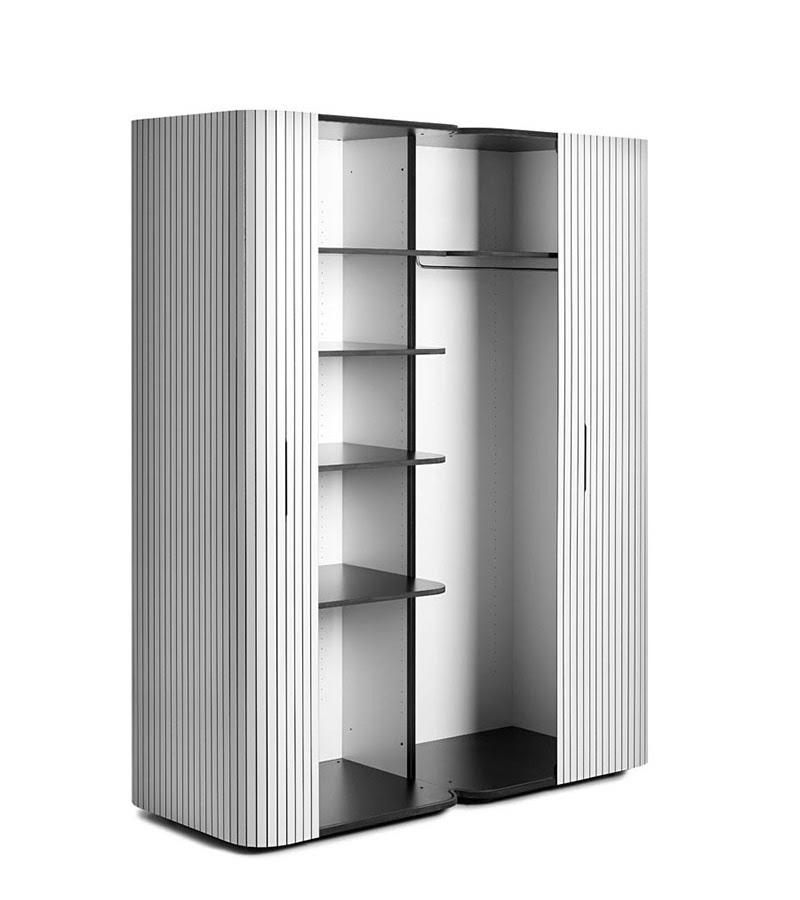 Wogg 49 - Modern Wardrobe Design with Roller-Door | The Design Home