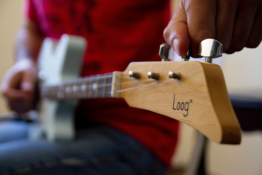 Loog's new 3 String Electric Guitar