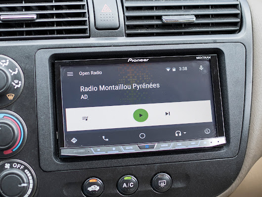 Open Radio, and why long lists don't work in Android Auto