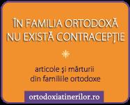 In familia ortodoxa nu exista contraceptie