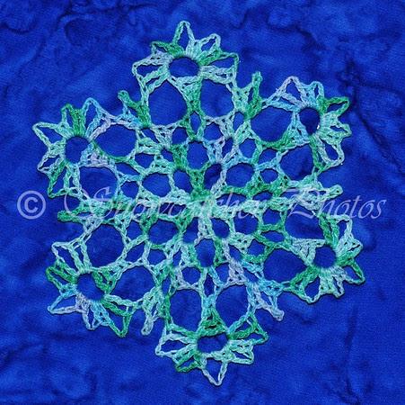 Turquoise Snowflake