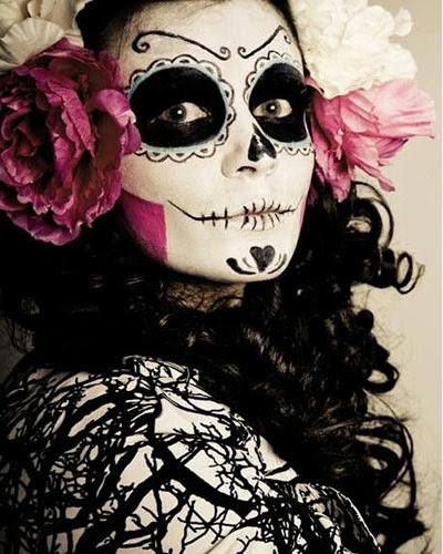 21 Ideas De Maquillaje De Catrina Con Disfraz Y Peinados 2018
