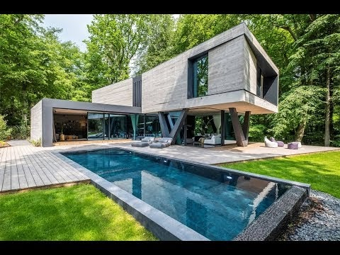 Home Inspiration: Exquisite Modern Marvel In The Middle Of Nature