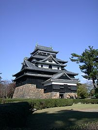 the Keep of Matsue Castle