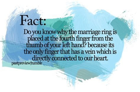 Fact, Do You Know Why The Marriage Ring Is Placed At The