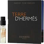 Terre D'Hermes by Hermes Vial (Sample) Pure Perfume .05 oz