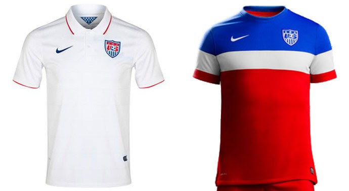 camisa Estados Unidos Copa do Mundo Blog