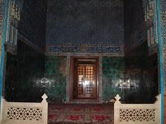 Tempat Istirehat Sultan Di Dalam Green Mosque, Bursa, Turkey