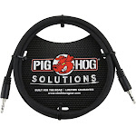 Pig Hog Solutions 6ft, 3.5mm TRS to 3.5mm TRS Cable