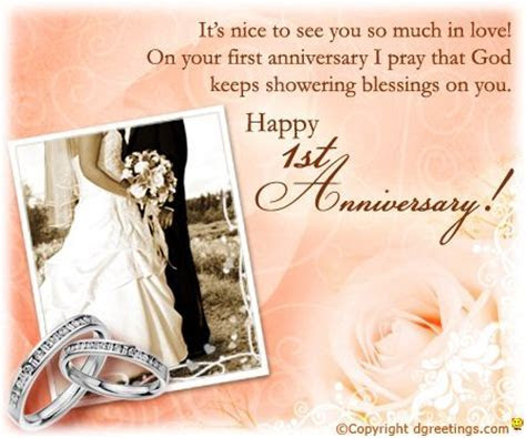 First anniversary, Happy anniversary and Anniversaries on