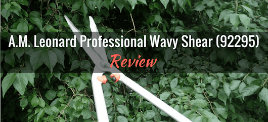A M Leonard Professional Wavy Shear (#92295): Product Review