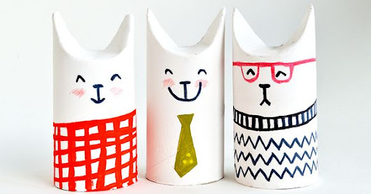 Toilet Roll Crafts - Let's Make Sophisti-Cats