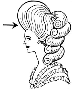 Lo stile Pompadour prende nome da Madame de Pompadour