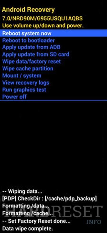 Wipe data NOKIA 5