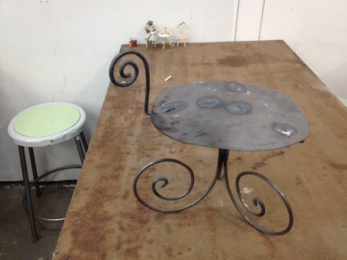 Concrete & steel workshop