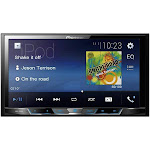 """7"""" Double-DIN In-Dash Digital Media & A-V Receiver with Bluetooth"""