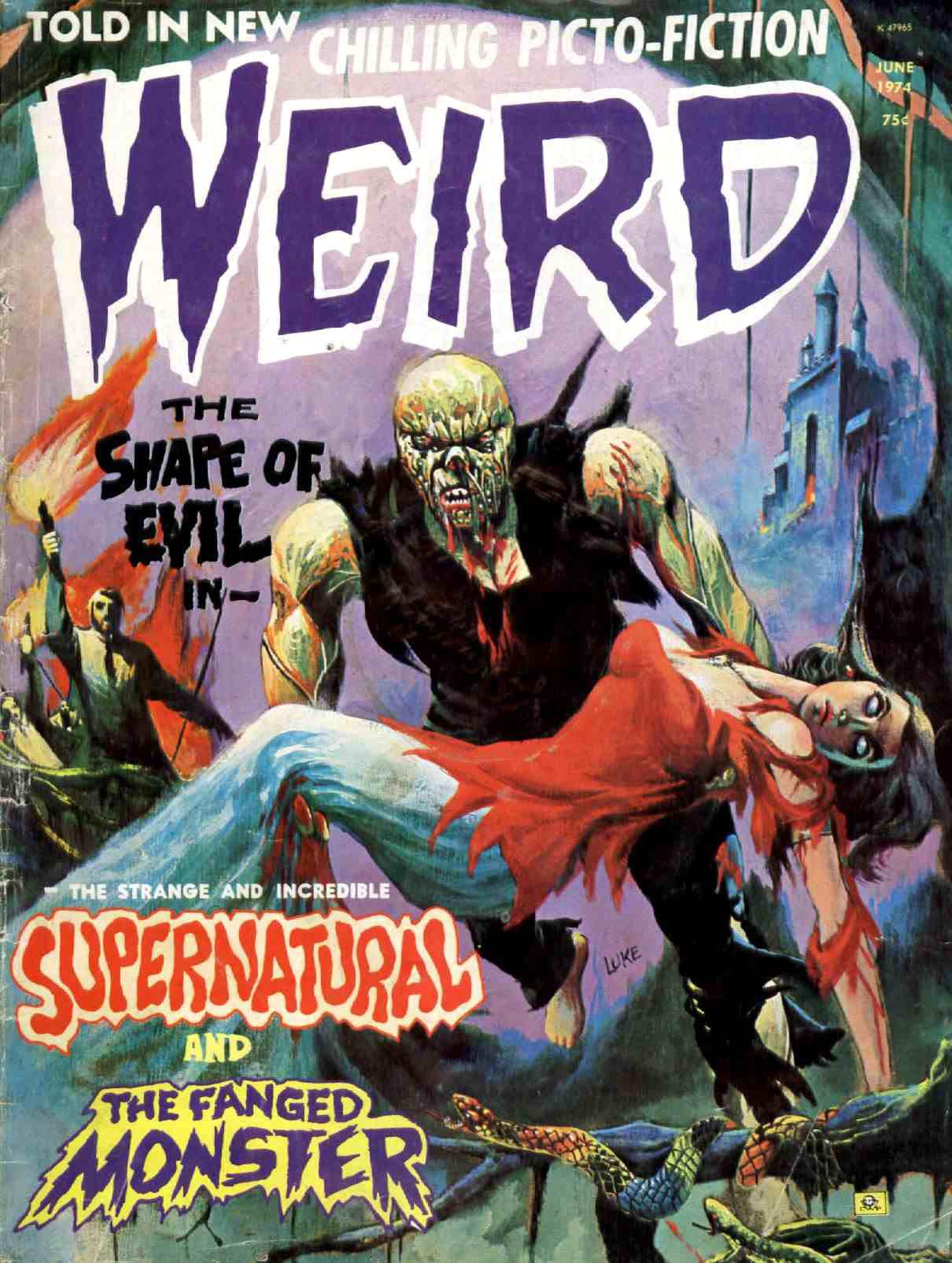 Weird Vol. 08 #3 (Eerie Publications, 1974)