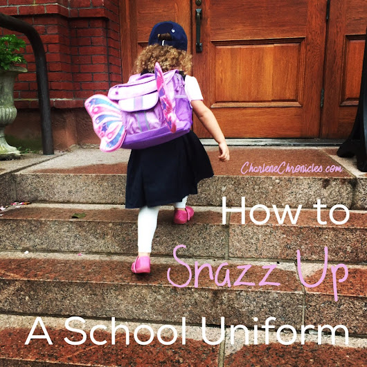 How to Snazz Up a School Uniform - Charlene Chronicles