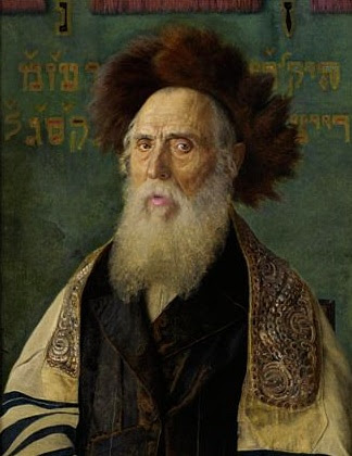 Plik:Isidor Kaufmann Portrait eines Rabbis mit Pelzmütze.jpg