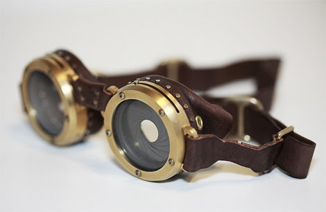 steampunk goggles Steampunk Goggles With Variable Aperture