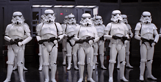 First Possible Look at Star Wars Episode VII's Chrome Stormtrooper