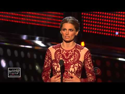 BecklebeeCastle : Stana Katic  @Stana_Katic Favorite TV Dramatic Actress People's Choice Awards 2014  (HD) #Castle #StanaKatic   | Twicsy, the Twitter Videos Engine