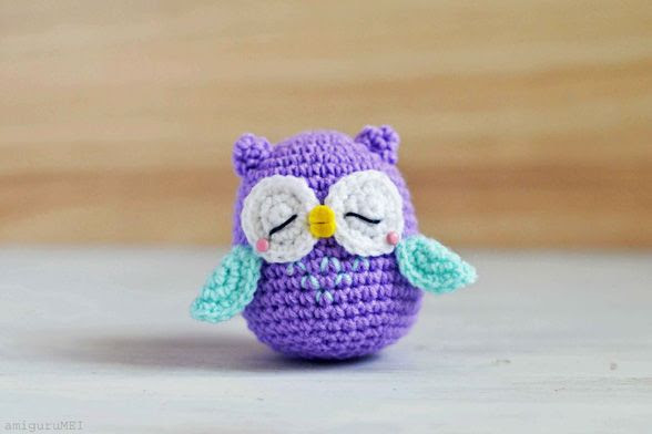 Amigurumi | Owl - Mr. Murasaki | Free Pattern & Tutorial at CraftPassion.com - Part 2