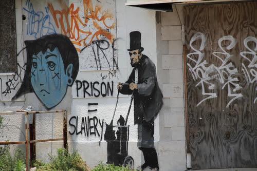 Graffiti in Lower Ninth Ward, New Orleans, LA © 2013 Dawn Porter