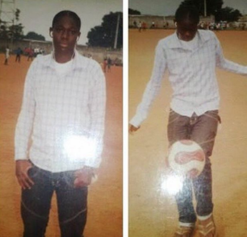 Checkout this throwback photo of Asisat Oshoala as a struggling female footballer