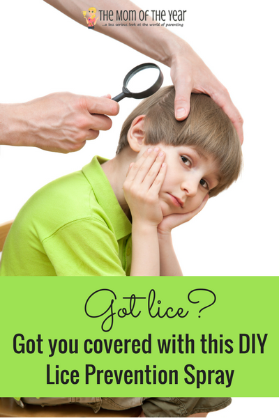 Natural DIY Lice Prevention Spray - The Mom of the Year