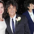 Sealed with a kiss! Ronnie Wood, 65, weds Sally Humphreys, 34, in secret ceremony... with Rod Stewart as best man