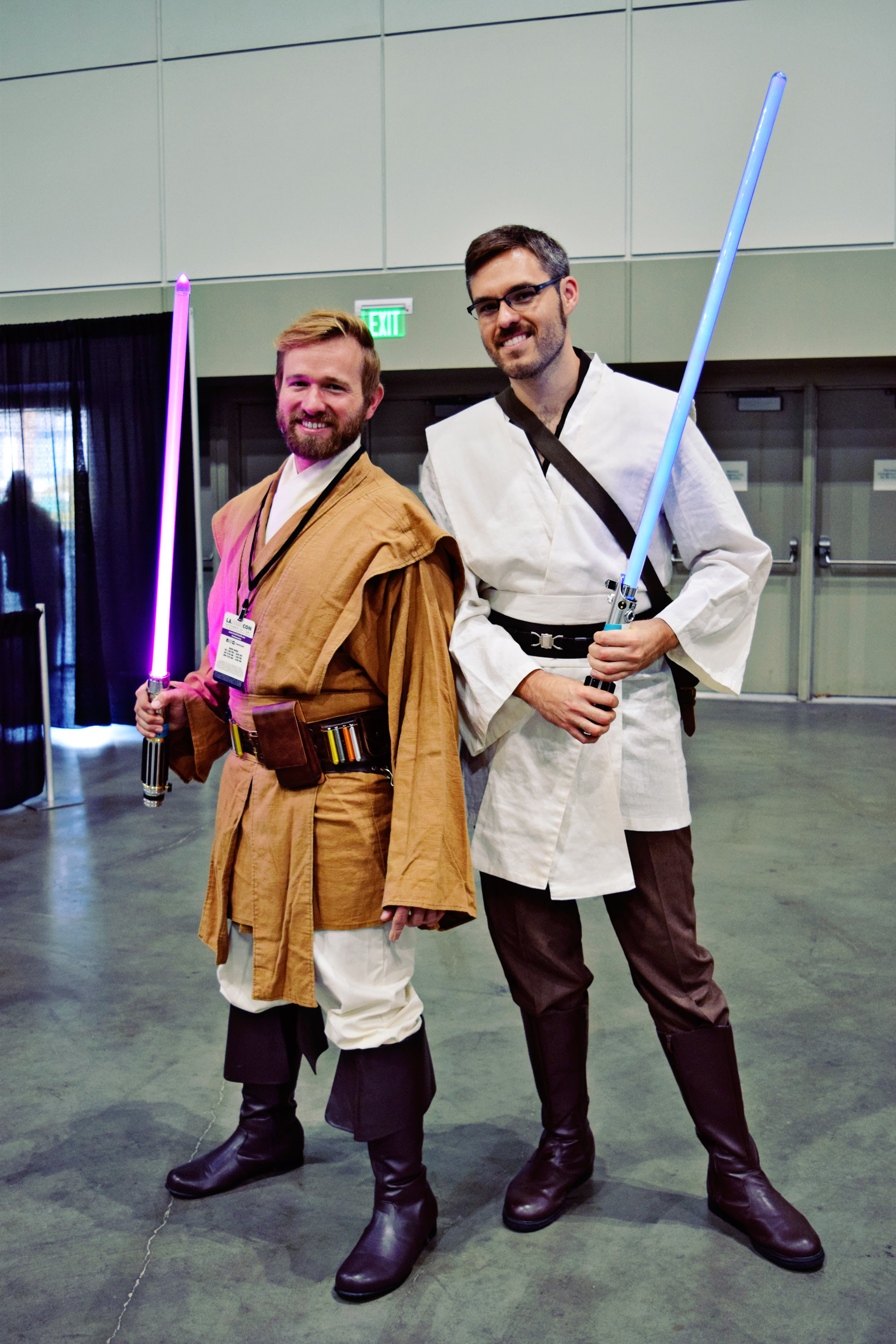 Star Wars Cosplay at L.A. Comic Con 2018 | Anakin and His Angel