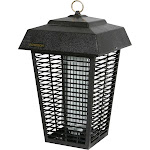Flowtron BK-80D Outdoor Electronic Insect Killer, Black