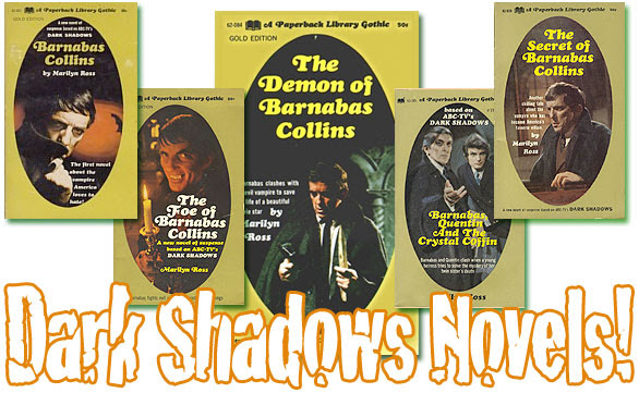 1970s Dark Shadows novels