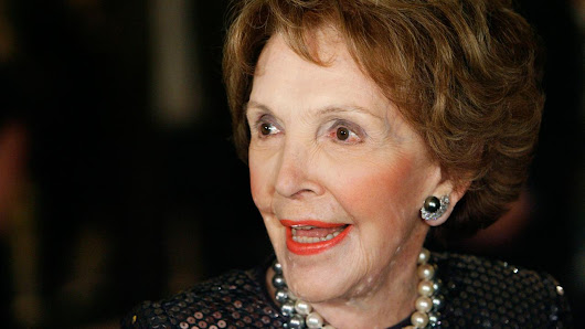 Nancy Reagan, former first lady, dead at 94 |