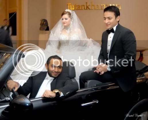 زفاف حمادة هلال يجمع فنانين شوفوا البوم الصور