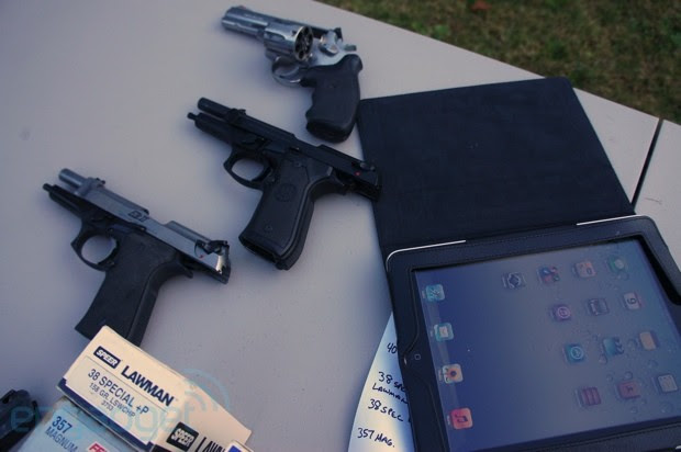 DNP VestGuard UK Ballistic iPad Panel test can this slate stop a bullet or two video