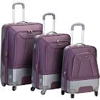 Rockland Rome 3pc. Hybrid ABS Luggage Set - Lavender, Purple