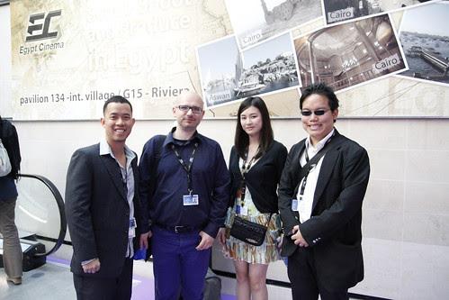 Ming Jin, Paolo, Fooi Mun and me