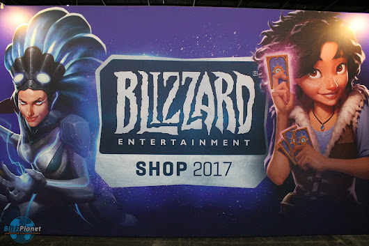 GamesCom 2017 Blizzard Booth Photos - Press Day - Blizzplanet | Warcraft