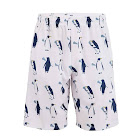 Fun Lacrosse Shorts - Penguins with Lacrosse Sticks Youth Large