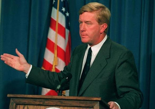 William Weld considering run for VP on Libertarian ticket - The Boston Globe