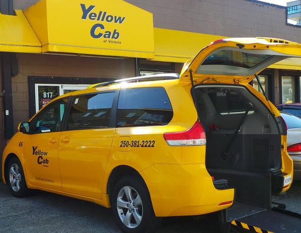 Yellow Cab Victoria Bc 817 Fisgard St Canpages