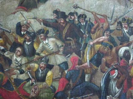 DEFEAT OF THE TURKS AT THE GATES OF VIENNA